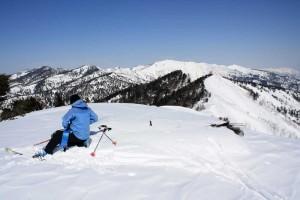 2011年2月27日の八間山頂