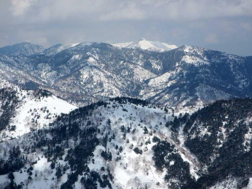 裏大高山からの白砂山