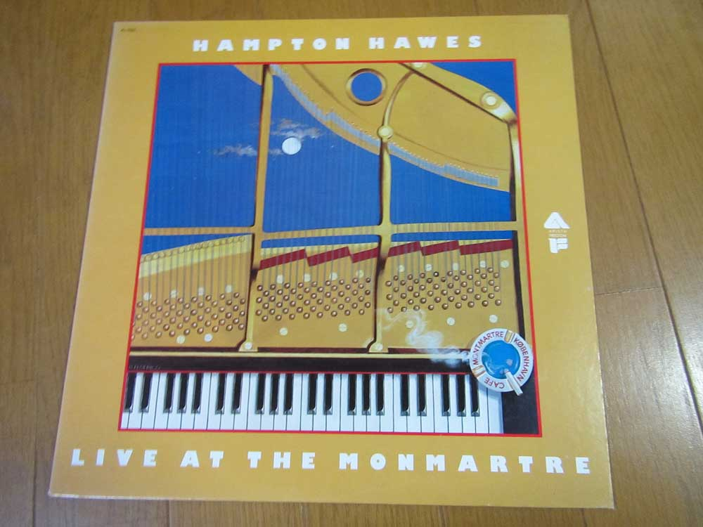 Hampton Hawes Live at the Monmartre