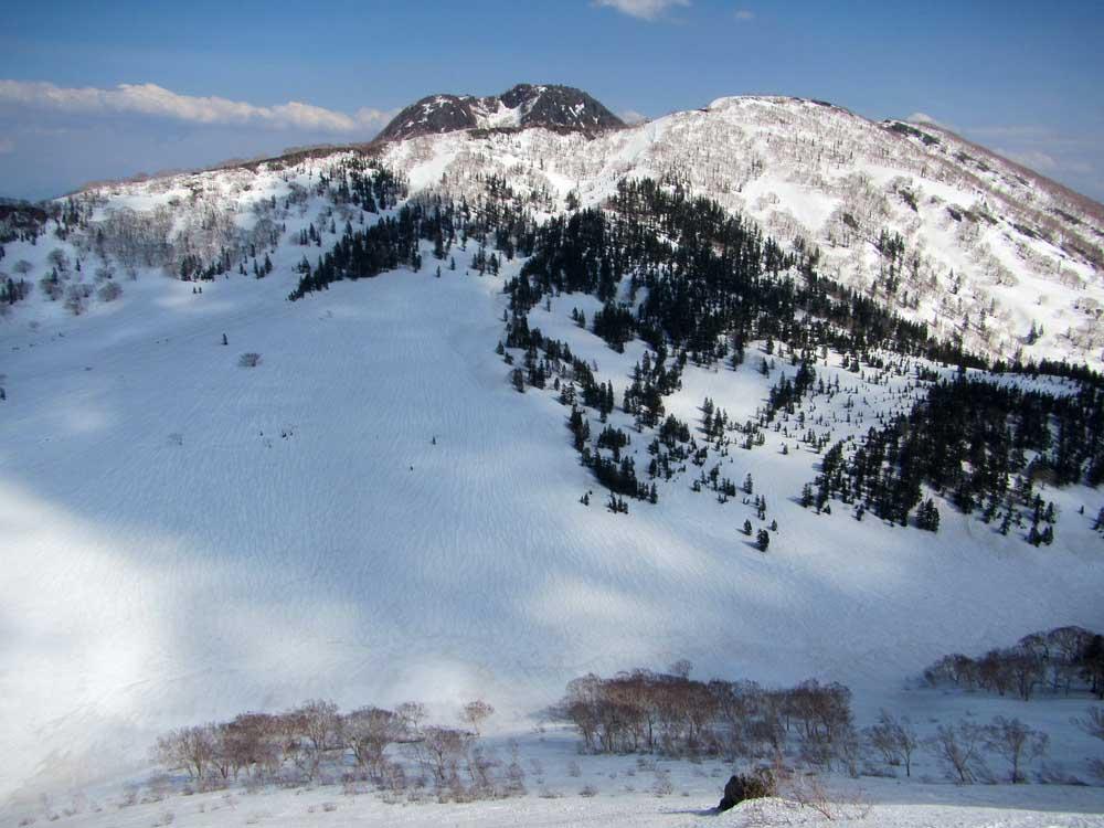 三田原山外輪と妙高山