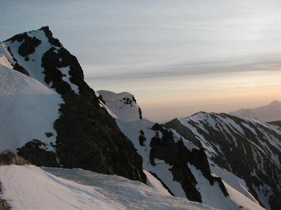 朝の白馬岳