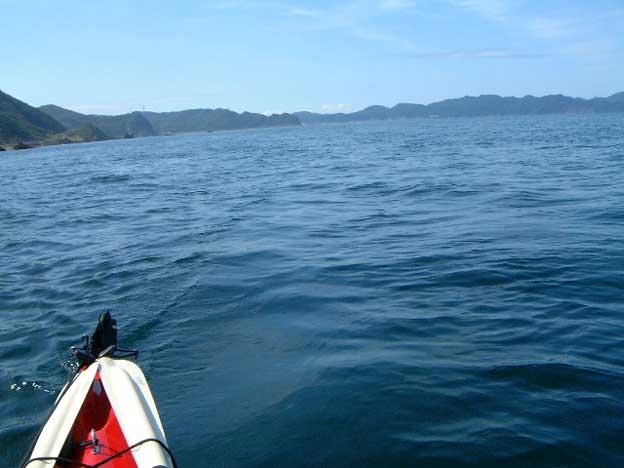 小泊半島から龍飛岬まで、昨日の景色とは対照的。